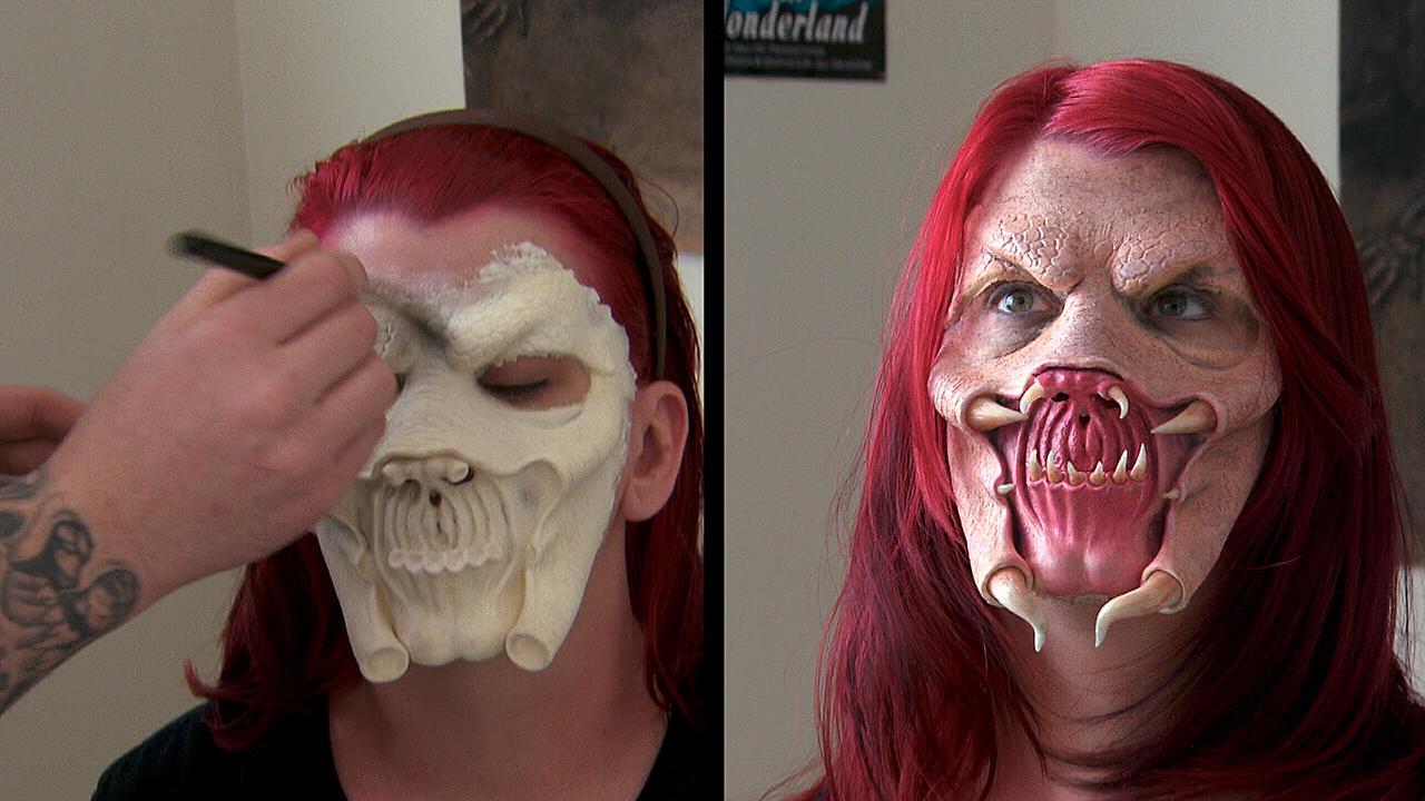 The work of makeup artist Ben Peter