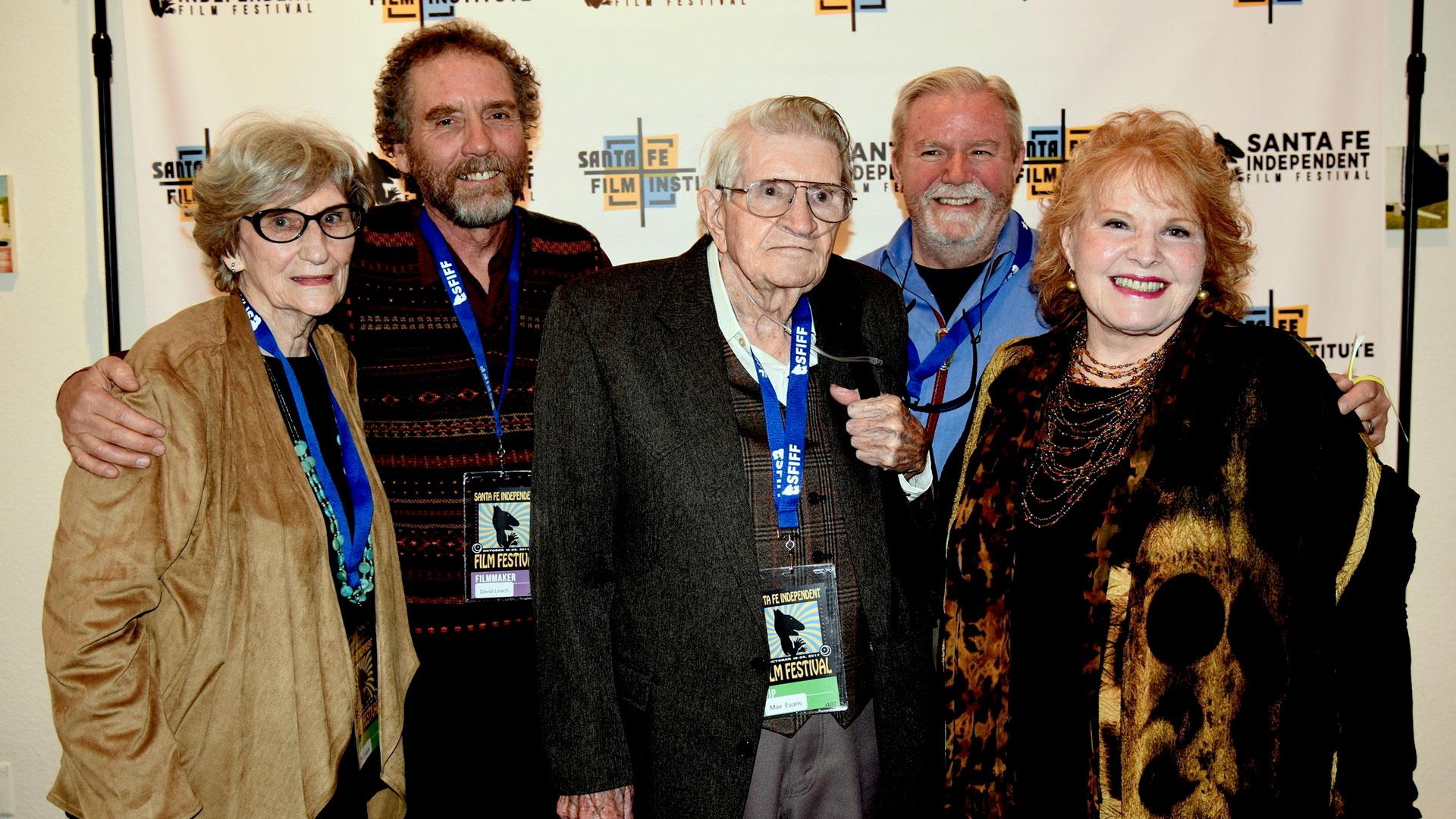 Photo Pat Evans, David Leach, Max Evans, Paul Barnes, Lorene Mills