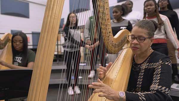 Cass Tech Harp and Vocal Program