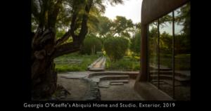 Georgia O'Keeffe's Garden