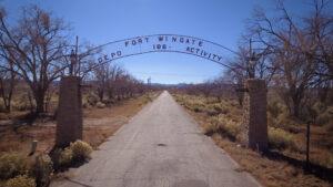 Fort Wingate Gate