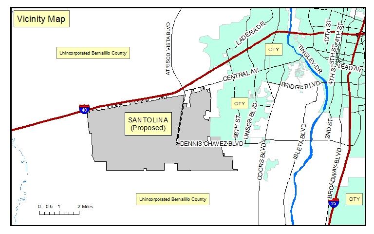 Proposed Santolina Master Plan (www.bernco.gov)