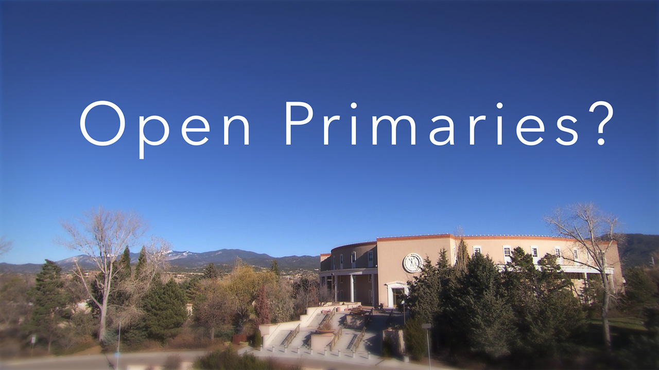 Open Primaries?