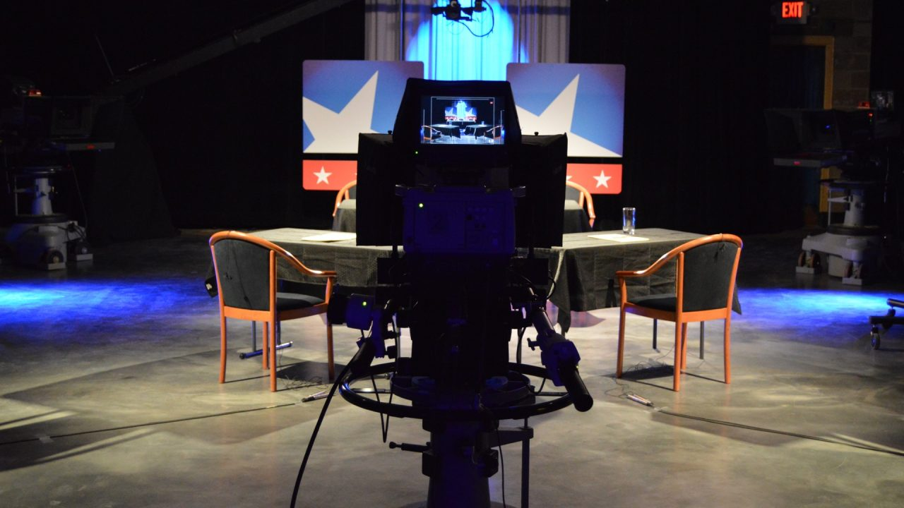 Studio, CD 3 Debate (Credit: Michael Padilla/New Mexico News Port)