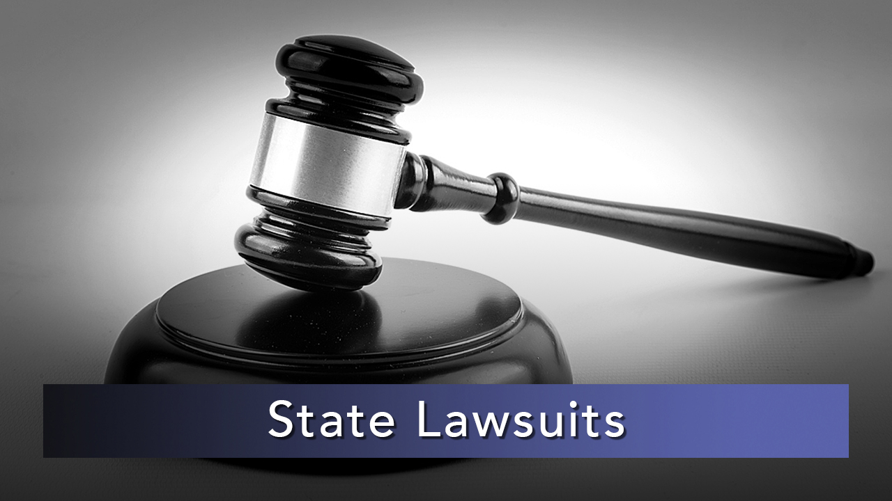 NMiF: State Lawsuits