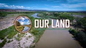 NMiF: Our Land logo (Santa Ana)