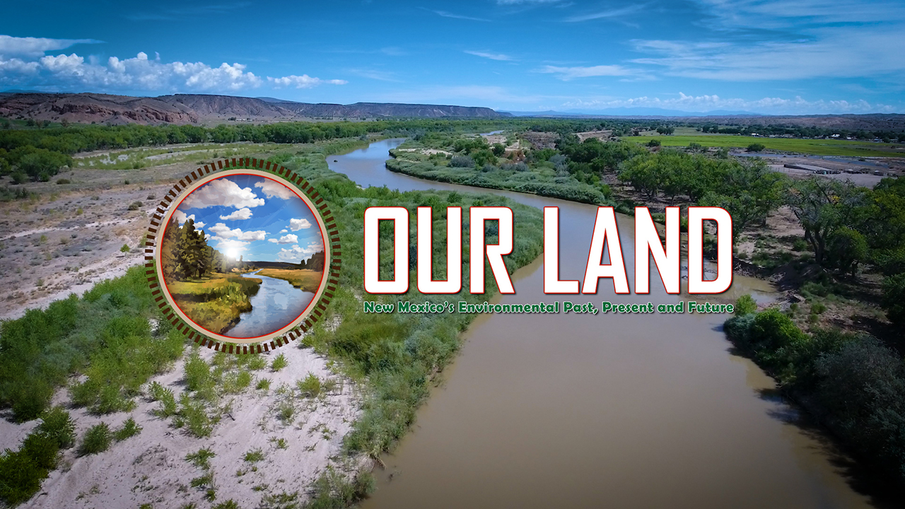NMiF: Our Land logo (Santa Ana)