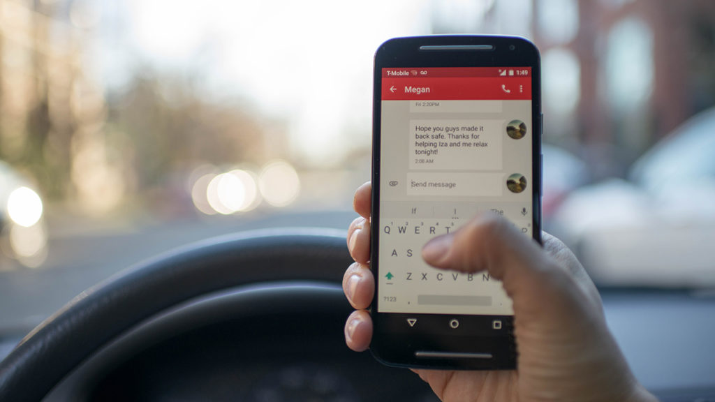 NMiF: distracted driving