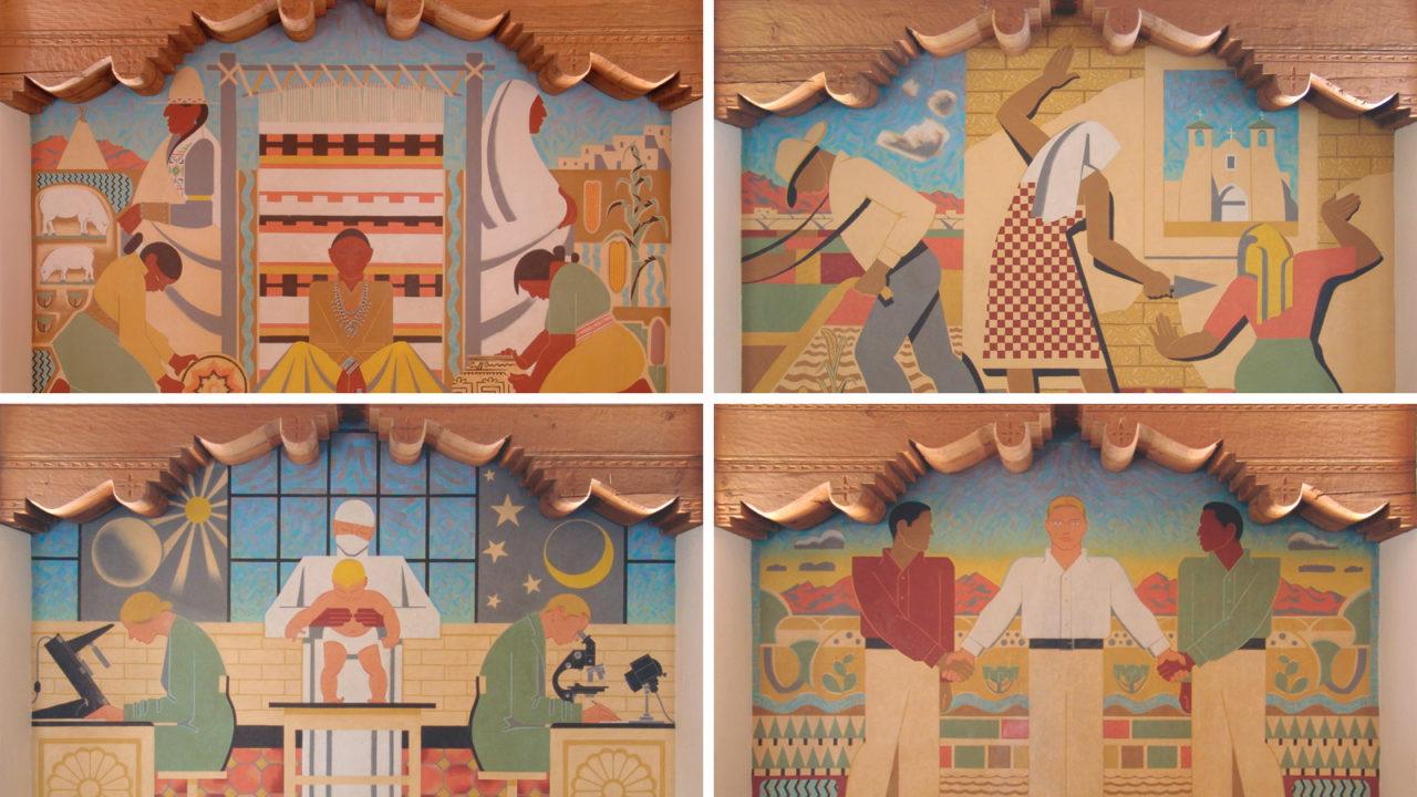 1216 Line UNM Zimmerman Murals