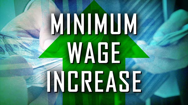 Line Minimum Wage Increase