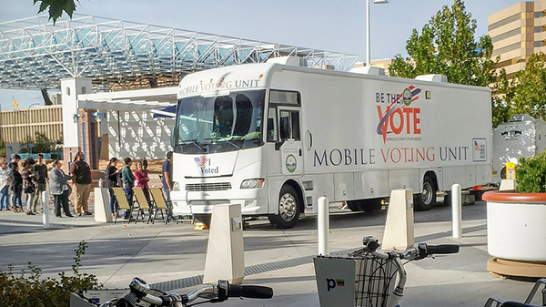mobile voting unit