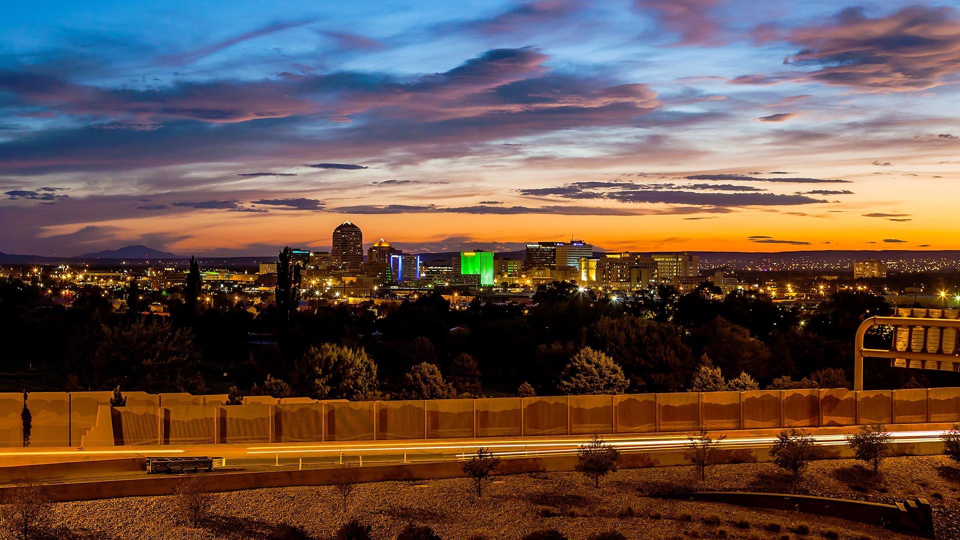 City of Albuquerque Skyline
