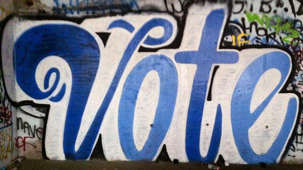 Vote Graffiti