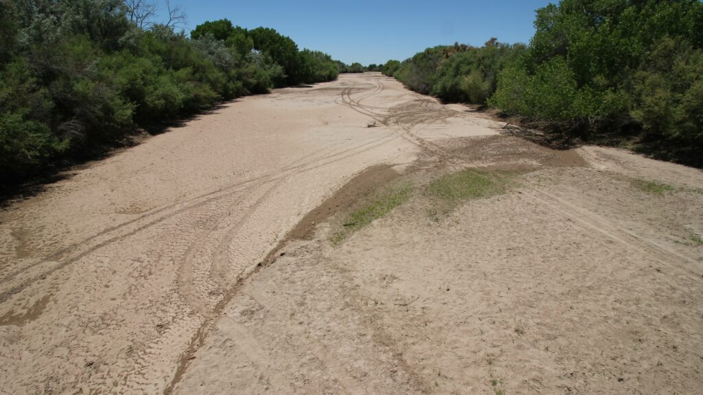 our land dry rio grande