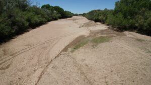 our land dry rio grande