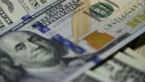 A close up of a $100 dollar bill.