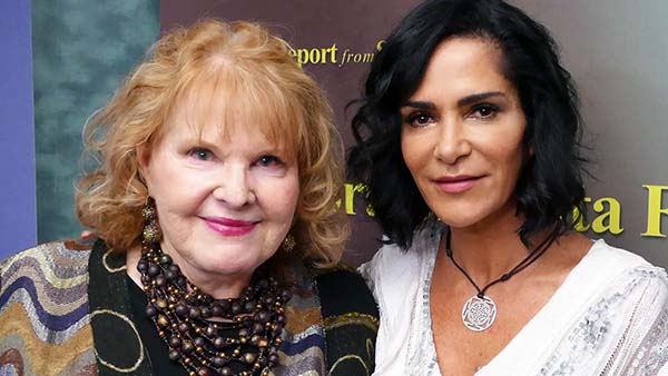 Lydia Cacho and Lorene Mills