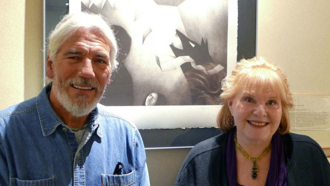 Report from Santa Fe: Dan Flores and Lorene Miills