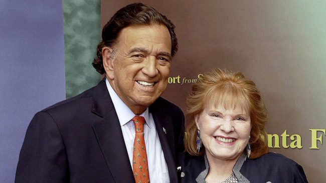 Report from Santa Fe - Bill Richardson and Lorene Mills