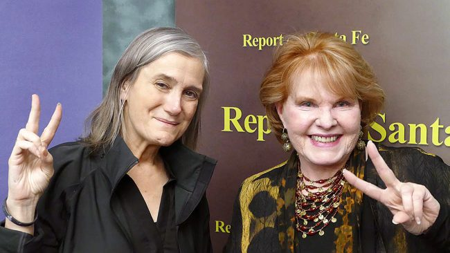 Report from Santa Fe: Amy Goodman and Lorene Mills