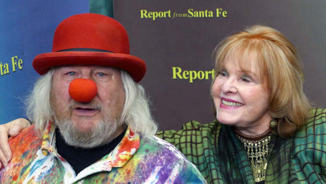 Report from Santa Fe: Wavy Gravy with Lorene Mills