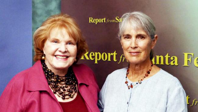 Report from Santa Fe: Lorene Mills and Deborah Madison