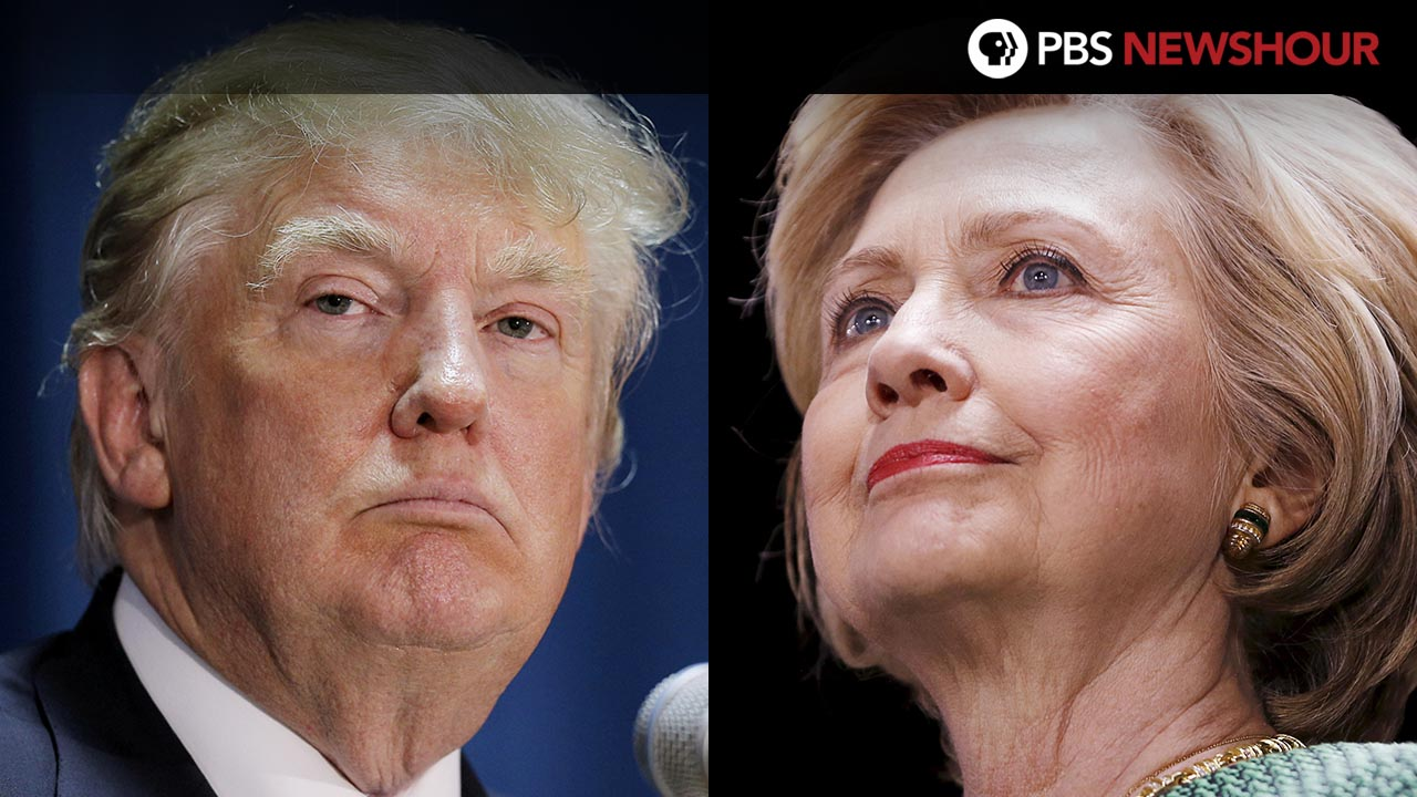 PBS Newshour Presidential Debate: Trump vs Clinton