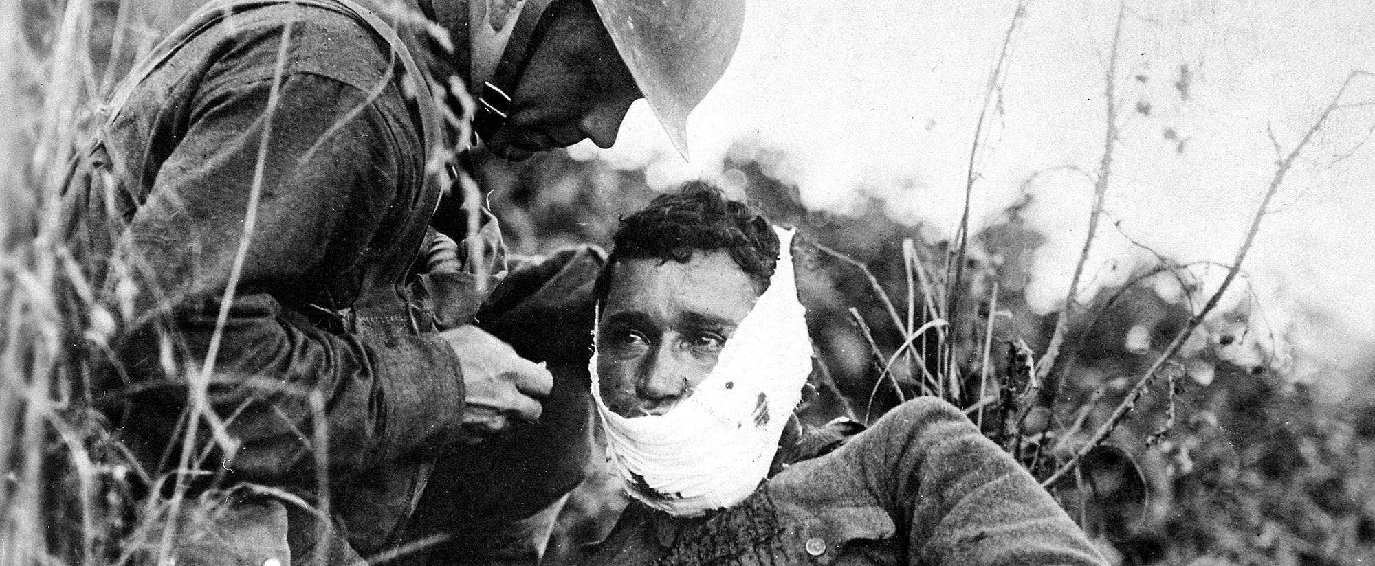AMERICAN EXPERIENCE: The Great War - wounded soldier