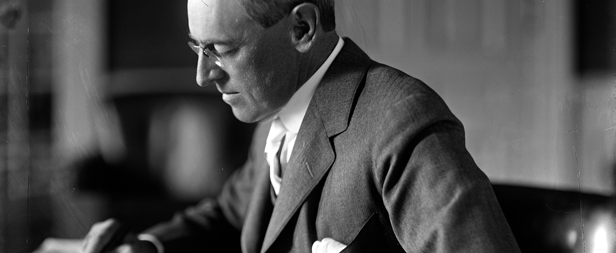 AMERICAN EXPERIENCE: The Great War - President Woodrow Wilson
