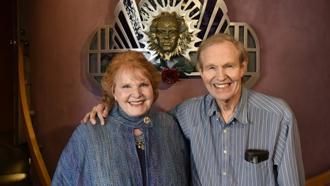 Lorene Mills and John Nichols