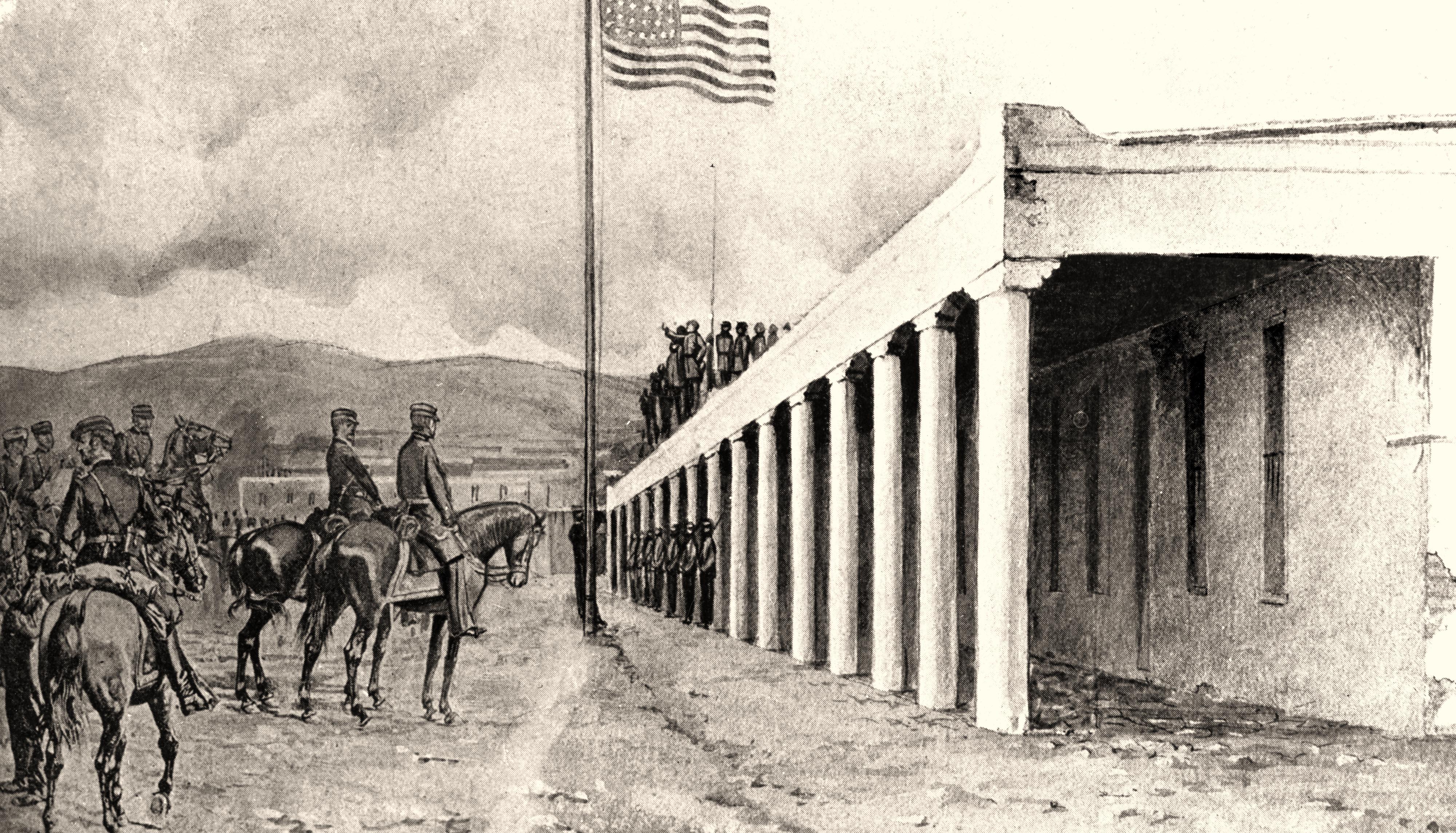2_Taming-New-Mexico_NM-PBS_Palace-of-the-Governors_Santa-Fe_POG-sketch.jpg