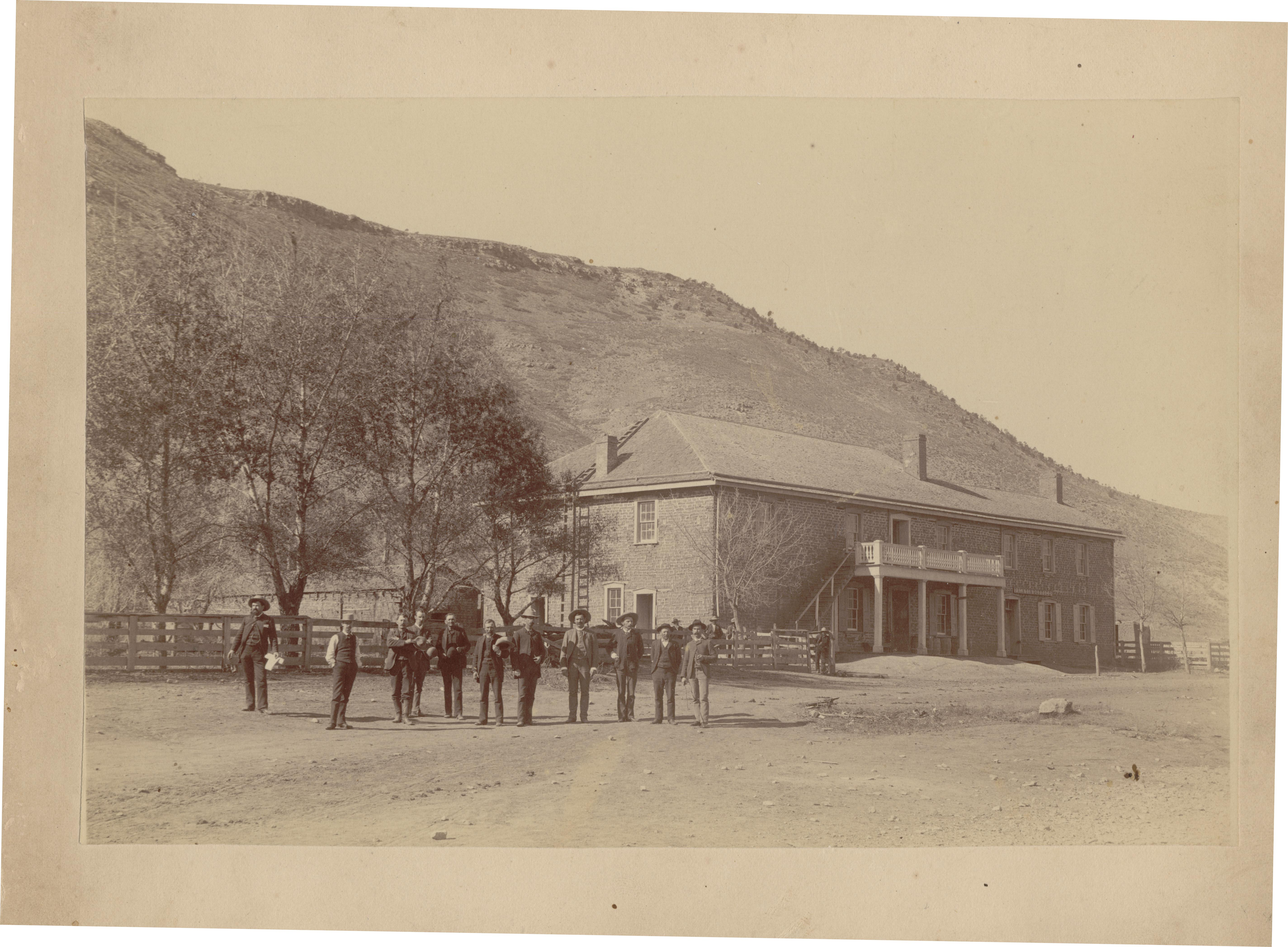 4_Taming New Mexico_NM PBS_Lincoln County Courthouse c. 1880