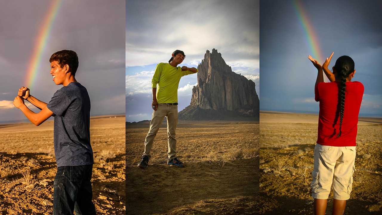 Mayors of Shiprock triptych