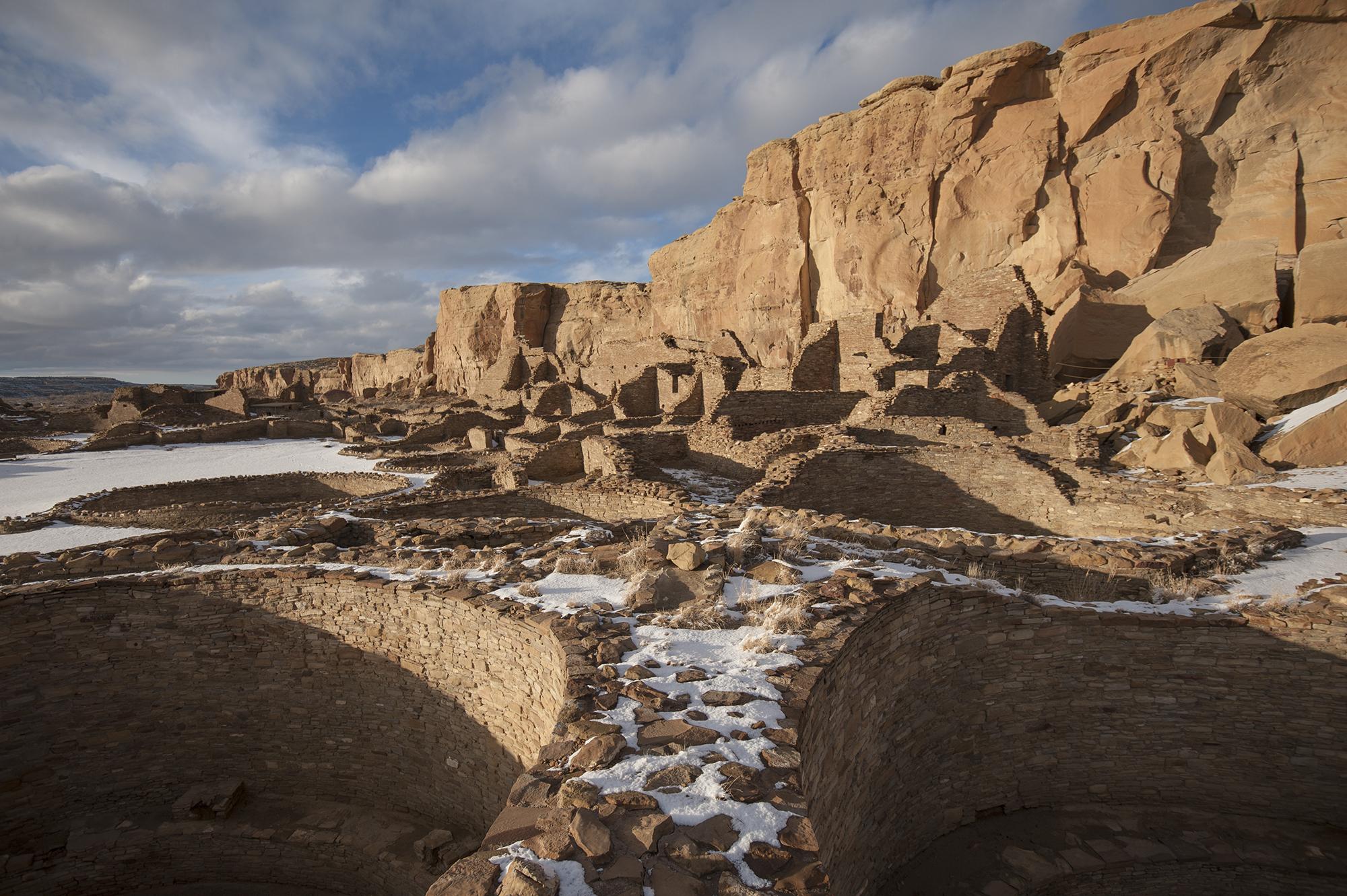 Pueblo Bonito winter