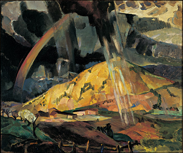 The Springtime Rainbow, 1923 - Jozef Bakos Courtesy the NM Museum of Art