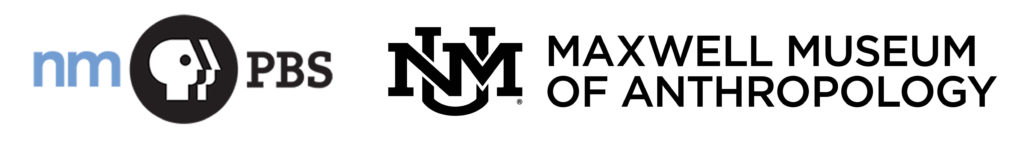 NMPBS and UNM Maxwell Museum logos