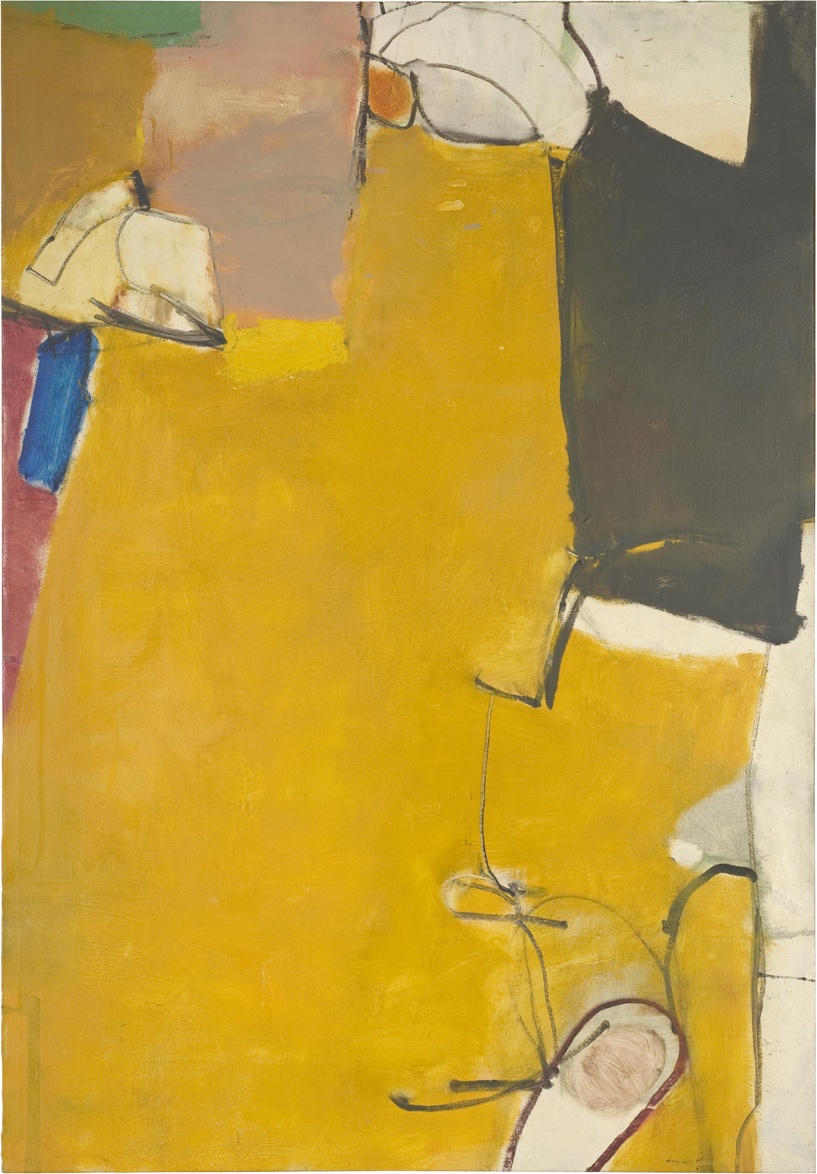 11_PAINTING ALBUQUERQUE - Richard Diebenkorn - Untitled_ 1951_ The Richard Diebenkorn Foundation