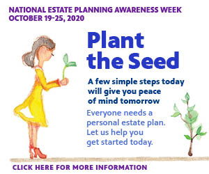 National Estate Planning Week 2020. Click here for your free planning guide