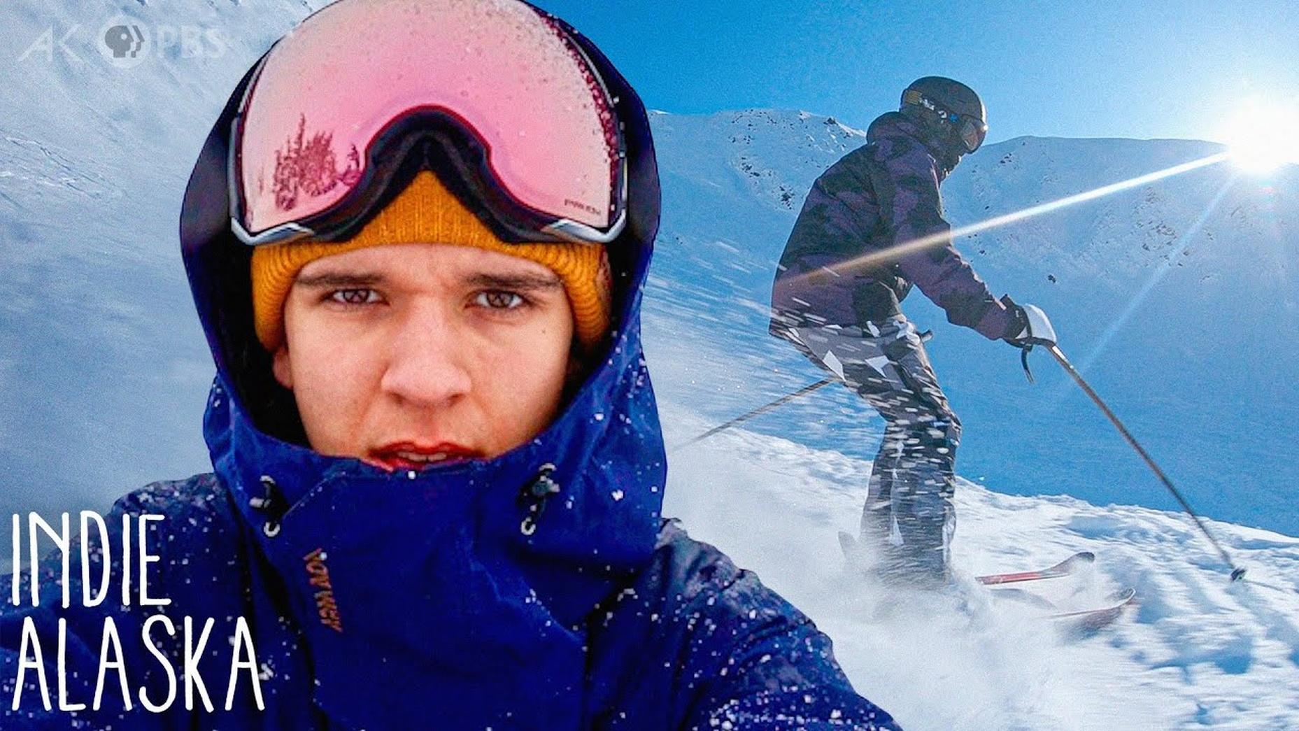 Skiing Alaska's extreme slopes with videographer Luka Bees