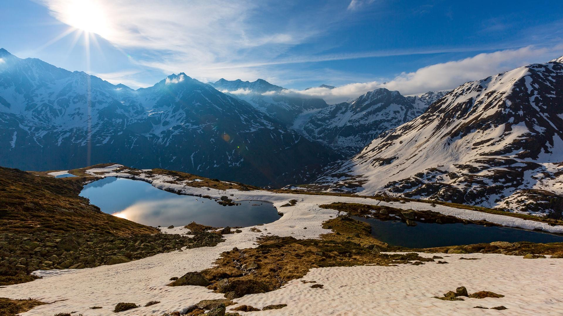 nature the alps
