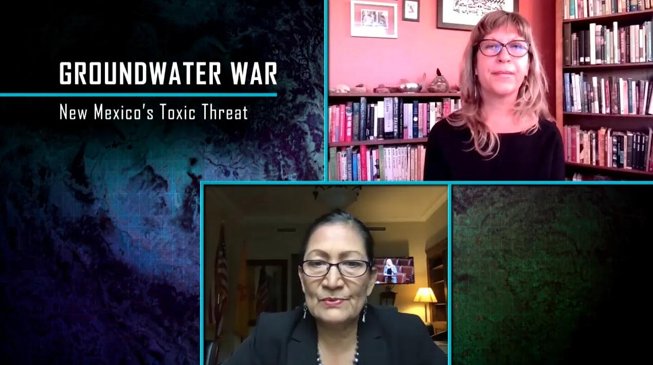 Rep. Deb Haaland Talks PFAS Contamination